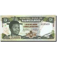 Swaziland, 5 Emalangeni, Undated (1990-95), Undated (1990-95), KM:19a, NEUF - Swaziland