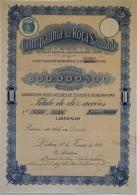 Share - Companhia Da Roça Saudade - 1.000$00 1919 - Magazines: Subscriptions