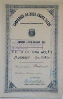 Share - Comp. Da Roça Angra Toldo - 100$00 1917 - Magazines: Subscriptions