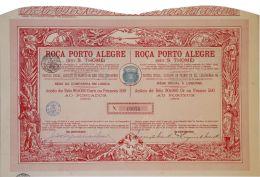 Share - Roça Porto Alegre - 90$000 1904 - Magazines: Subscriptions
