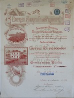 Share - Empreza Agricola Do Principe - 50$000 1901 - Magazines: Subscriptions