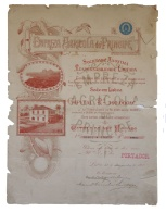 Share - Empreza Agricola Do Principe - 50$000 1900 - Magazines: Subscriptions