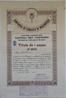 Share - Comp. Do Comercio De Moçambique - 100$00 1959 - Magazines: Subscriptions