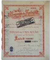 Share - Companhia Da Zambezia - 60$00 1945 - Magazines: Subscriptions