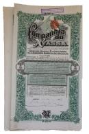 Share - Companhia Do Nyassa - 112$500 1909 - Magazines: Subscriptions