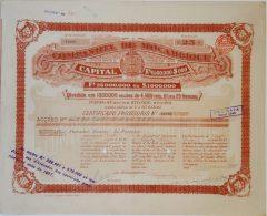 Share - Comp. De Moçambique -  112$500 1899 - Magazines: Subscriptions