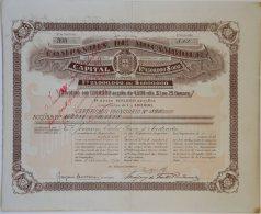 Share - Comp. De Moçambique - 1.350$000 1894 - Magazines: Subscriptions