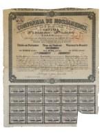 Share - Comp. De Mossamedes - 22$500 1894 - Magazines: Subscriptions