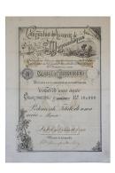 Share - Comp. Do Assucar De Moçambique - 10$000 1892 - Magazines: Subscriptions