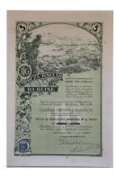 Share - Empreza Insular Da Guiné - 500$00 1923 - Magazines: Subscriptions