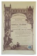 Share - Companhia Da Guiné - 500$00 1919, RARE - Magazines: Subscriptions