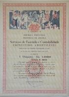 Share - Serviços De Fazenda E Contabilidade - 5.000$00 1970 - Magazines: Subscriptions