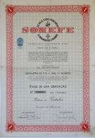 Share - SONEFE - 1.000$00 1960 - Magazines: Subscriptions