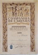 Share - Companhia De Cabinda - 100$00 1946 - Magazines: Subscriptions