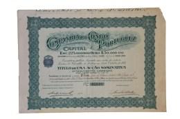 Share - Companhia Do Congo Portuguez - 4$50 1927 - Magazines: Subscriptions