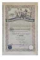 Share - Companhia Do Amboim - 100$00 1927 - Magazines: Subscriptions