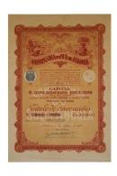 Share - Companhia Do Sul De Angola - 500$00 1923 - Magazines: Subscriptions