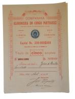 Share - Comp. Algodoeira Do Congo Portuguez - 500$000 1904 - Magazines: Subscriptions