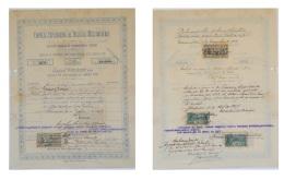 Share - Empreza Exploradora De Recreios Mossamedense - 10$000 1901 - Magazines: Subscriptions