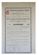 Share - The Loanda Gas Copmany, Limited - £20 1895 - Magazines: Subscriptions