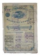 Share - Comp. Das Aguas De Loanda - 225$000 1890 - Magazines: Subscriptions