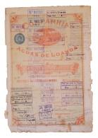 Share - Comp. Das Aguas De Loanda - 450$000 1890 - Magazines: Subscriptions