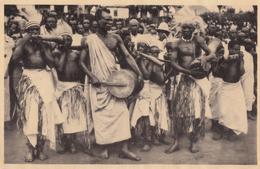 CPA - Musiciens Indigènes Rythmant Les Danses ( Tambours Et Cors ) - Rwanda