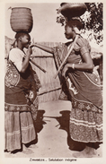 CPA - Salutation Indigène - Zambie
