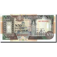 Somalie, 50 N Shilin = 50 N Shillings, 1991, 1991, KM:R2, NEUF - Somalia