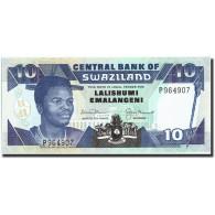 Swaziland, 10 Emalangeni, Undated (1990-95), KM:20b, Undated (1990-95), NEUF - Swaziland