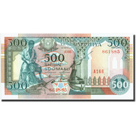 Somalie, 500 Shilin = 500 Shillings, 1996, 1996, KM:36a, NEUF - Somalie