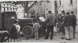 Photo Originale Forcalquier Libération Militaria WWII Camion - Guerre, Militaire