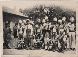 Photo Originale Forcalquier Libération Militaria WWII Tirailleurs Sénégalais - Guerre, Militaire