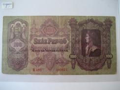 UNGARN - 100 Pengö 1930 - Hungary