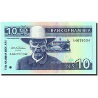 Namibia, 10 Namibia Dollars, Undated (1993), KM:1a, Undated (1993), NEUF - Namibie