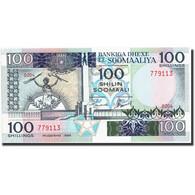 Somalie, 100 Shilin = 100 Shillings, 1989, 1989, KM:35d, NEUF - Somalie