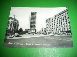 Cartolina Sesto S. Giovanni - Piazza 4 Novembre ( Rondò ) 1961 - Milano
