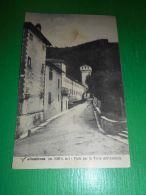 Cartolina Vallombrosa - Viale Per La Torre Dell' Abbazia 1932 - Firenze