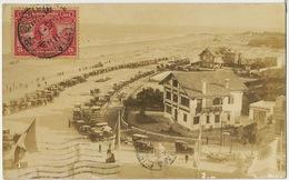 Real Photo Playa De Carrasco  Tip. Liotti 1928 Nice Stamp To Cuba - Uruguay