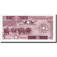 Somalie, 5 Shilin = 5 Shillings, 1986, KM:31b, 1986, NEUF - Somalie