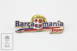 F.C. Barcelona Football Team Advertising - Barça Mania - Pin Badge - Fútbol