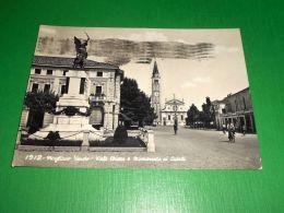 Cartolina Mogliano Veneto - Viale Chiesa E Monumento Ai Caduti 1962 - Treviso