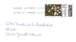Entier Postal Fleurs - Prêts-à-poster:  Autres (1995-...)