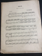 Partition : Faust, Gounod (Choudens Ed.- 5 Feuillets - Début Du Siècle Dernier - état Moyen) - Opéra