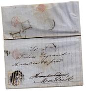 Carta De 1870 Direccion Madrid. - 1868-70 Gobierno Provisional