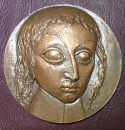 Médaille - CONGRES DES NOTAIRES DE FRANCE 1965 Par Marcel Chauvenet - Blaise Pascal - Professionnels / De Société