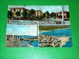Cartolina Saluti Da Misano Mare - Vedute Diverse 1960 - Rimini