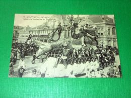 Cartolina Francia - Carnaval De Nice - Gendarme Amoureux De L' Aviation 1910 Ca - Cartes Postales