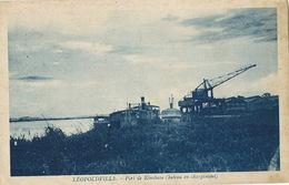 Leopoldville  Port De Kinshasa Bateau En Chargement  Edit Bessieres - Kinshasa - Léopoldville