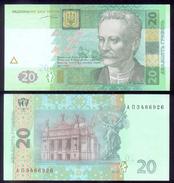 UKRAINE 20 HRYVEN 2003 P120 Crisp UNC - Ukraine